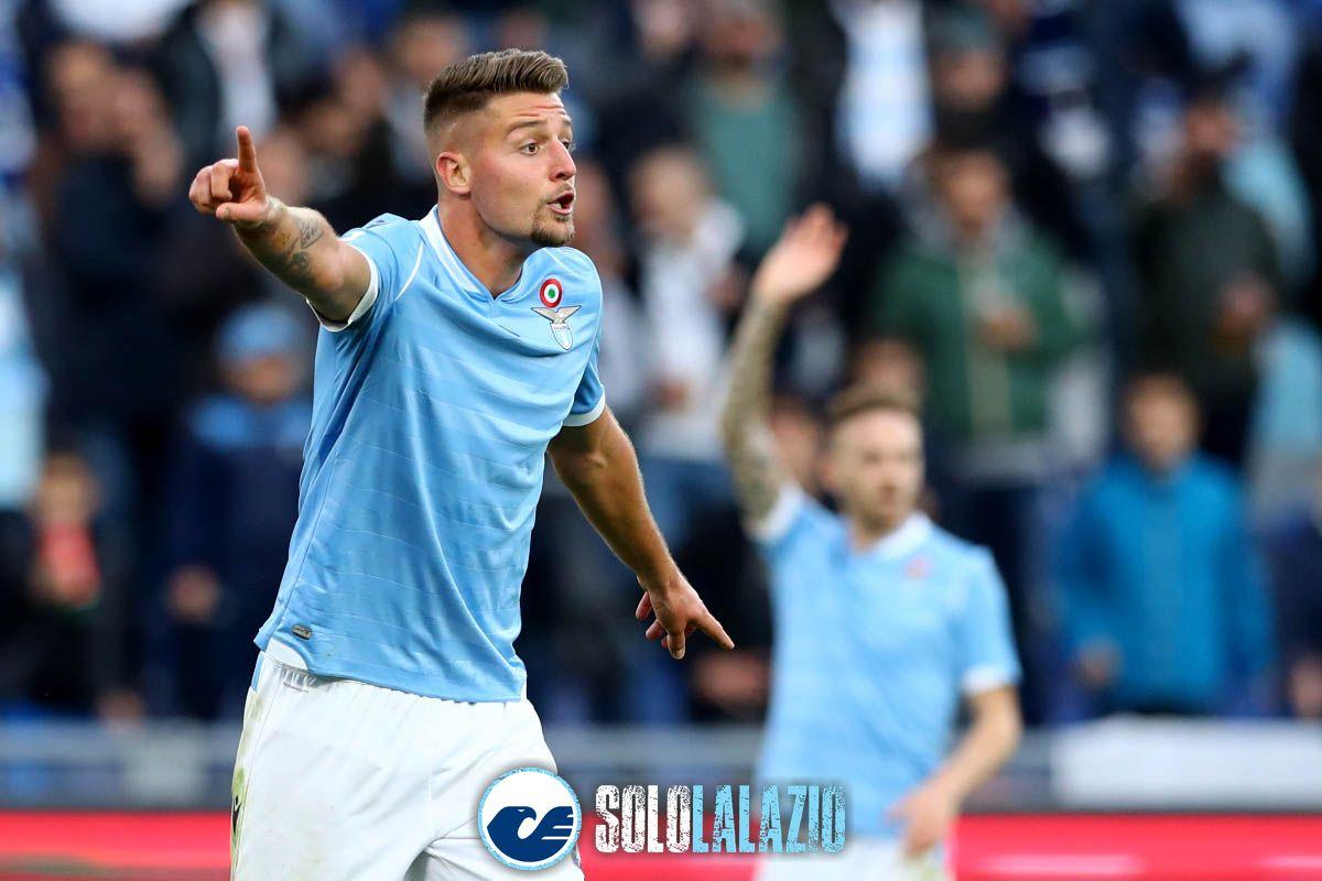 Lazio - Lecce, Sergej Milinkovic