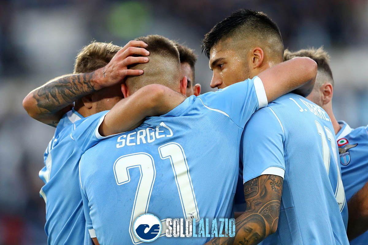 La Lazio e il tridente d'oro: primo posto nel ranking europeo