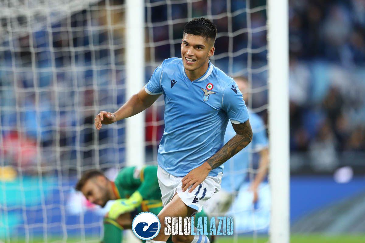 El Tucu Correa nella prima pagina del Corriere dello Sport (ed. Roma)