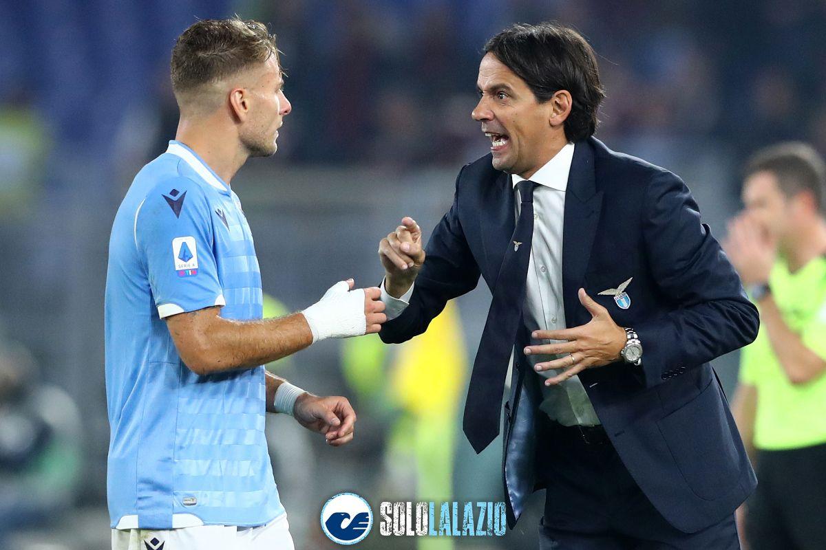 Lazio, Ciro Immobile e Simone Inzaghi