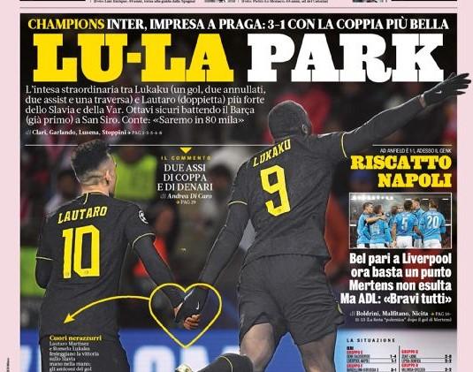 Le prime pagine dei giornali quotidiani sportivi (FOTO)