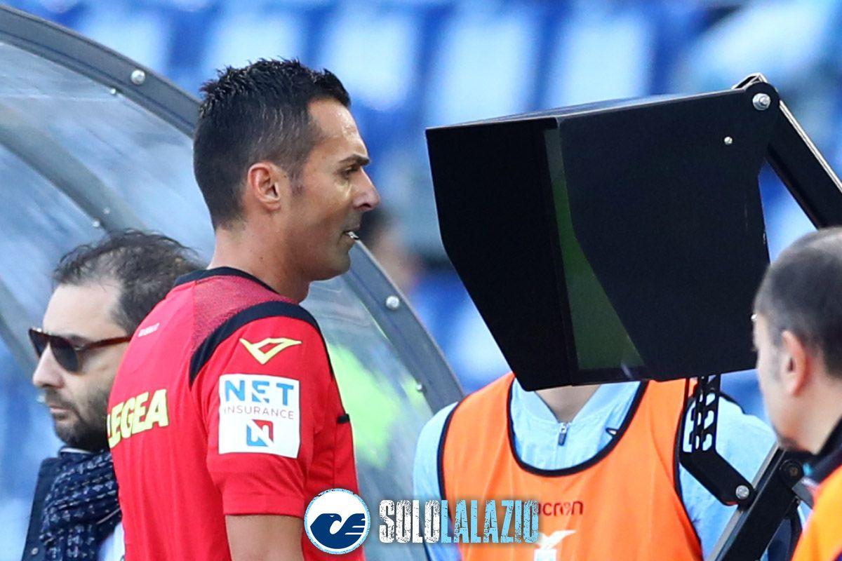 Lazio - Udinese, arbitro Marco Di Bello Var