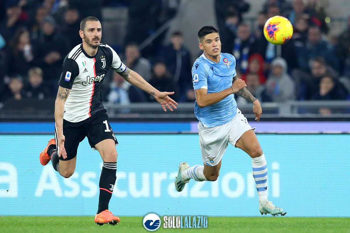 Lazio - Juventus, Joaquin Correa e Leonardo Bonucci