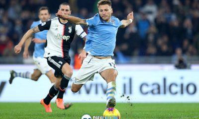 Lazio - Juventus, Ciro Immobile rigore