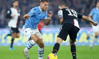 Lazio - Juventus, Ciro Immobile e Leonardo Bonucci