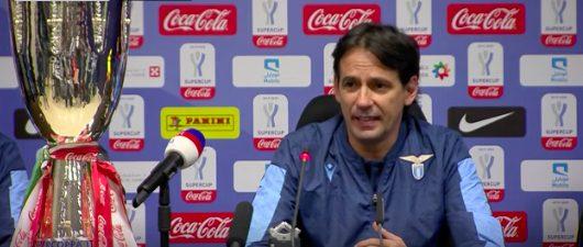 Supercoppa Juventus-Lazio, Simone Inzaghi in conferenza