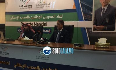 Roberto Mancini a Riyad