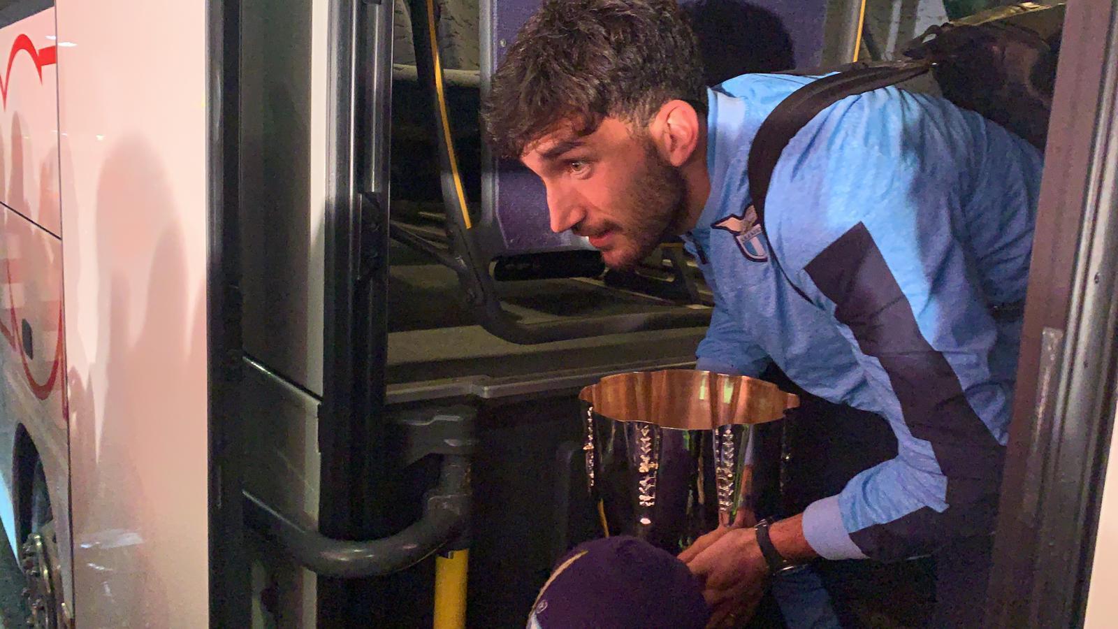 Supercoppa, Cataldi continua la ricerca della talpa (FOTO)