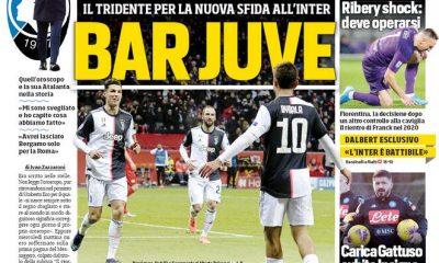 Le prime pagine dei principali quotidiani sportivi (FOTO)