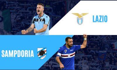 Lazio - Sampdoria, Serie A 2019-20: diretta live