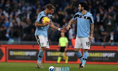 Lazio - Sampdoria, Ciro Immobile e Luis Alberto
