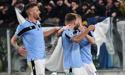 Lazio - Napoli, gol Immobile