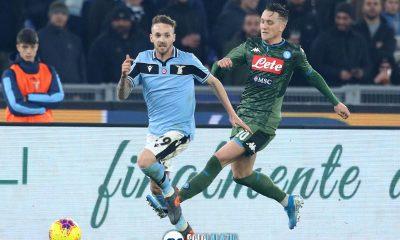 Lazio - Napoli, Manuel Lazzari e Piotr Zielenski