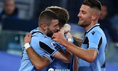 Lazio - Napoli, gol Ciro Immobile