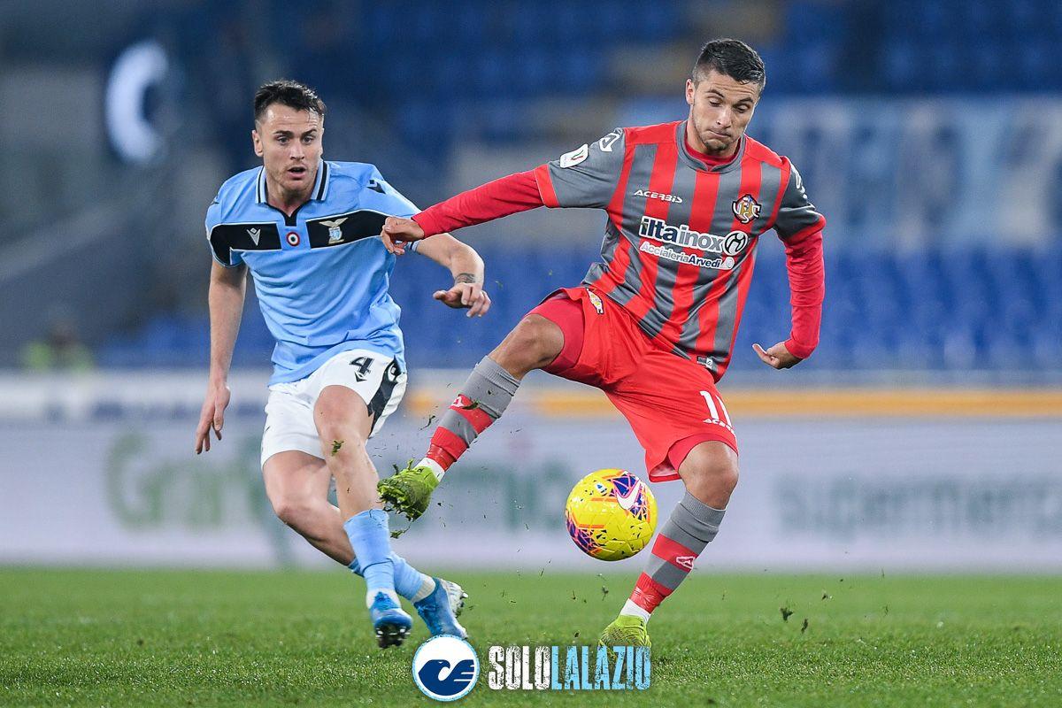 Lazio - Cremonese, Patric e Simone Palombi