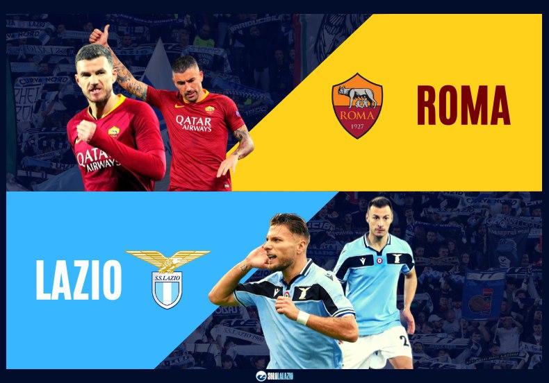 Derby Roma - Lazio, diretta live Serie A 2019/20