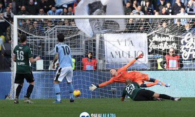 Lazio - Bologna, gol Luis Alberto