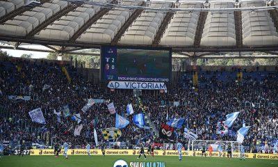 Lazio - Bologna, Curva Nord