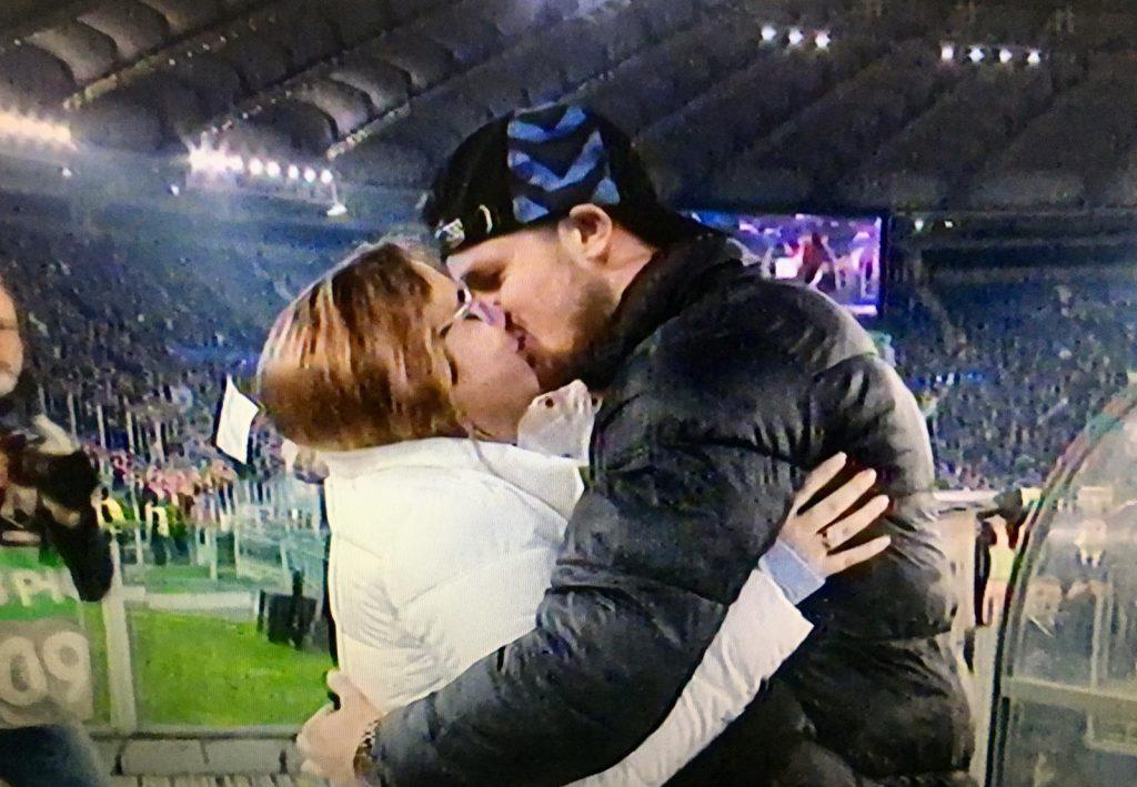 Lazio - Inter, dichiarazione matrimonio