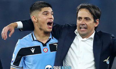 Lazio - Inter, Joaquin Correa e Simone Inzaghi