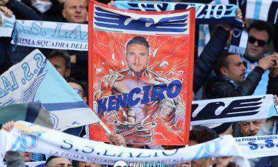 """Lazio - Spal, stendardo """"Ken Ciro"""""""