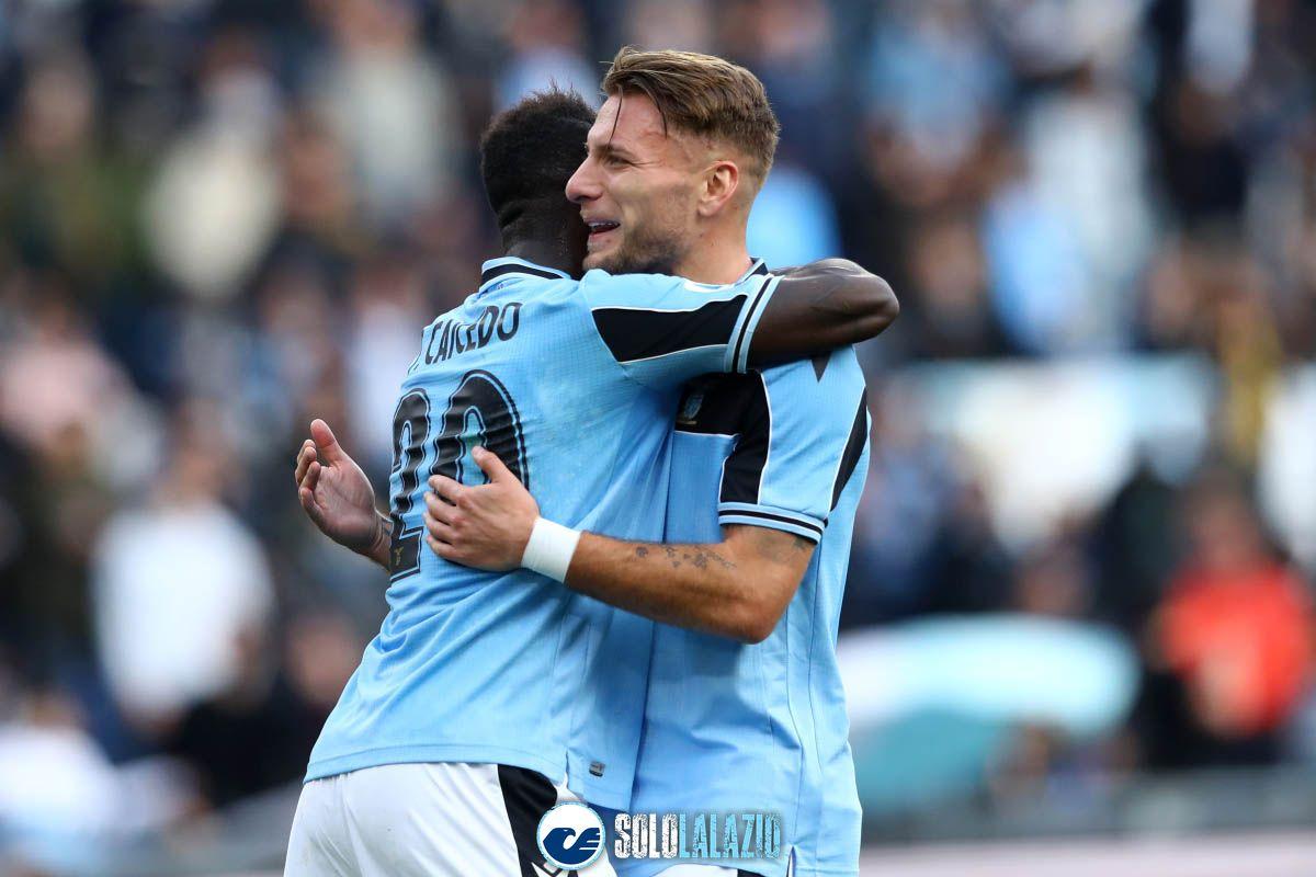 Lazio - Spal, Felipe Caicedo e Ciro Immobile