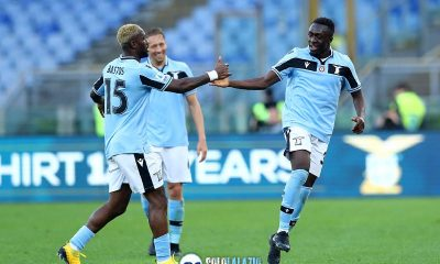 Lazio - Spal, Bastos e Bobby Adekanye