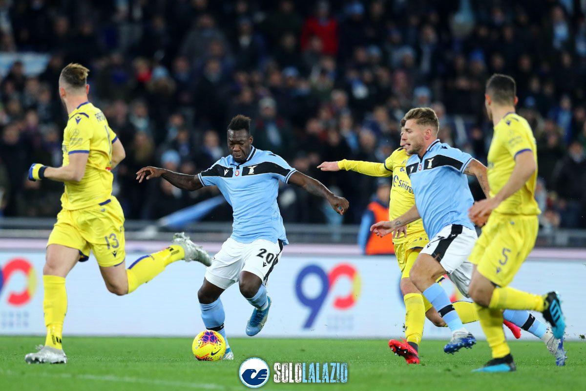 Lazio - Verona, Felipe Caicedo