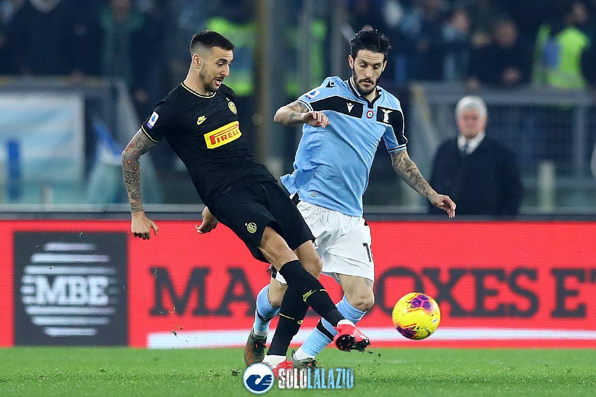Lazio - Inter, Matias Vecino e Luis Alberto
