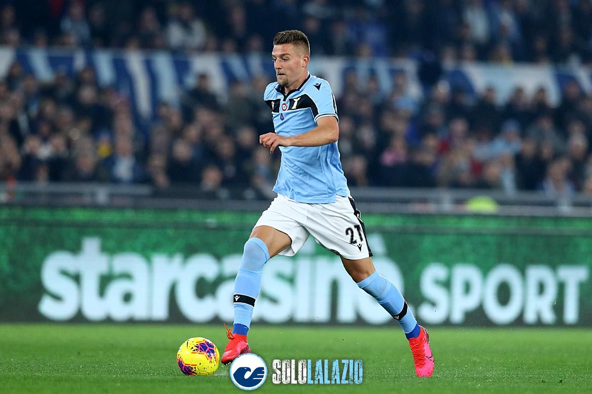 Lazio - Inter, Sergej Milinkovic