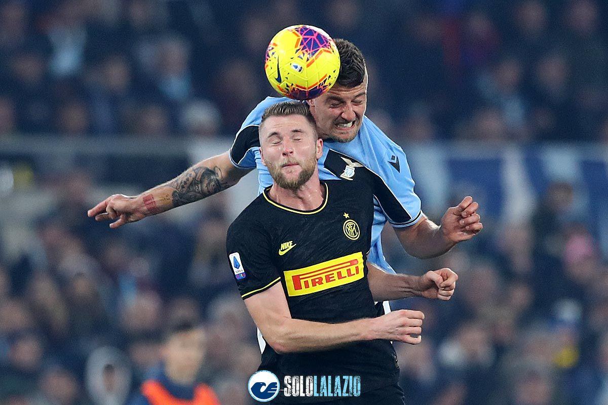 Lazio - Inter, Sergej Milinkovic e Milan Skriniar