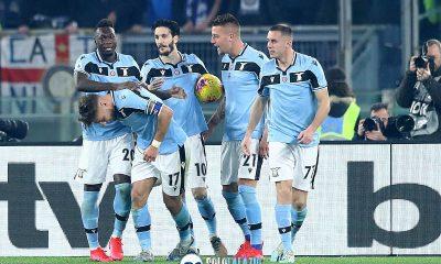 La Lazio seconda esclusivamente a Liverpool nella Top 5 europea