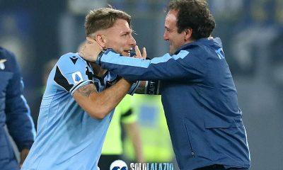 Lazio - Inter, Ciro Immobile e Fabio Ripert
