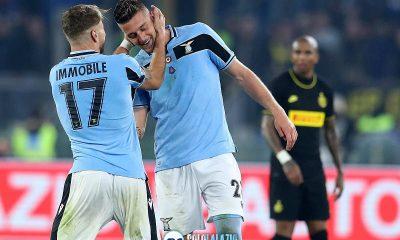 Lazio - Inter, Ciro Immobile e Sergej Milinkovic
