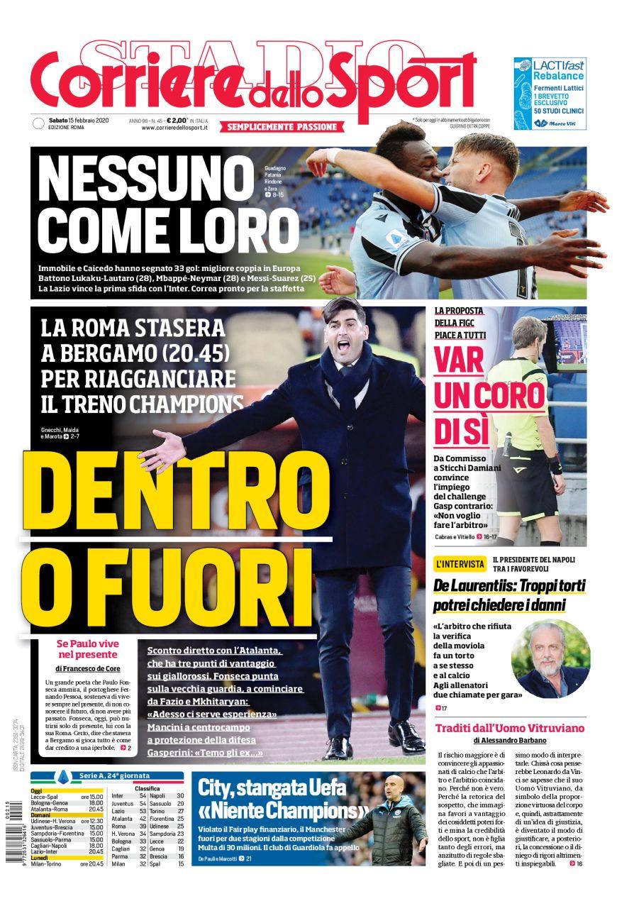 Corriere dello Sport di Roma: