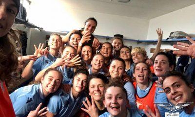 La Lazio Women verso il match per la vetta della classifica