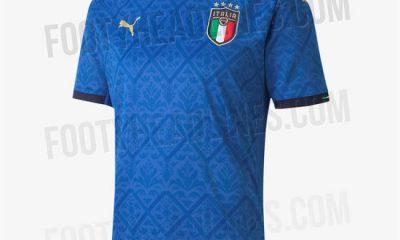 L'indiscrezione della maglia della Nazionale per Euro2020
