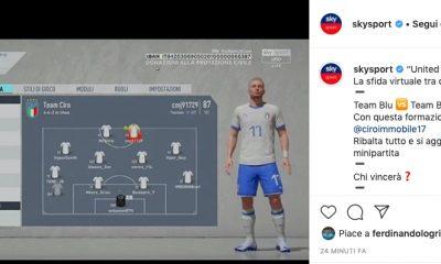 United per l'Italia, la squadra di Immobile batte quella di Florenzi