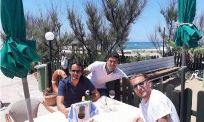 Lazio, mister Inzaghi e bomber Immobile a pranzo fuori insieme