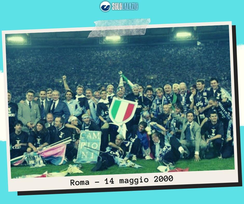 """14 maggio 2000, Cragnotti ed Eriksson: """"La Lazio sul tetto del mondo"""""""