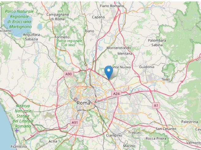 Terremoto Roma, scossa 3,3 di magnitudo con epicentro a Fonte Nuova