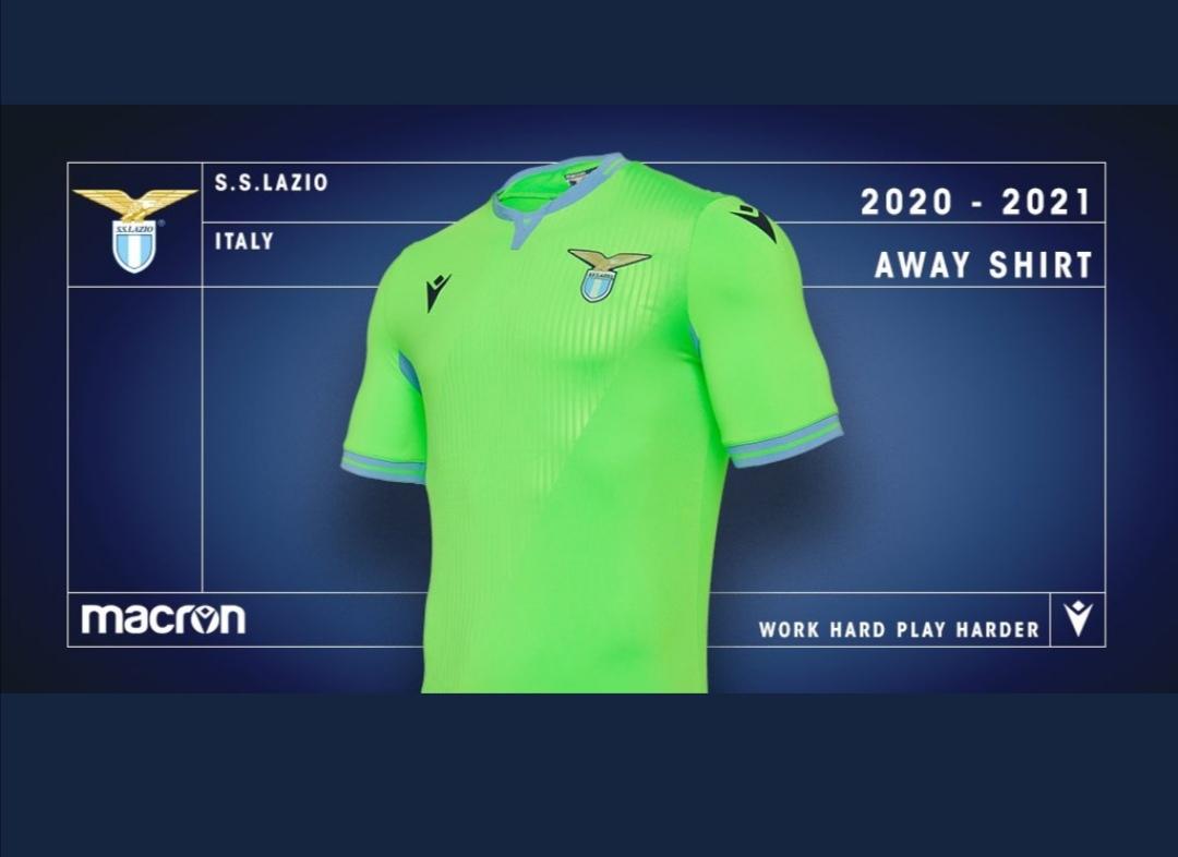 Lazio, la Macron svela la terza maglia - Solo la Lazio